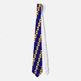 Barbados Flag Tie