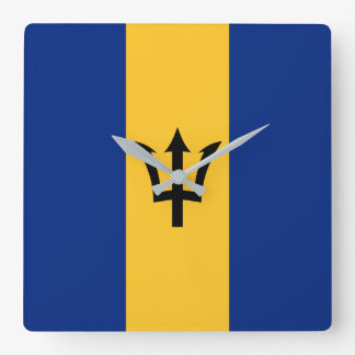 Barbados Flag Wall Clocks