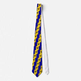 Barbados High quality Flag Tie
