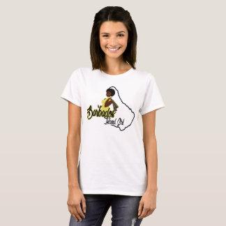 Barbados Island Girl T-shirt