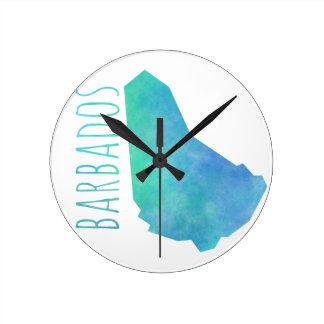 Barbados Round Clock