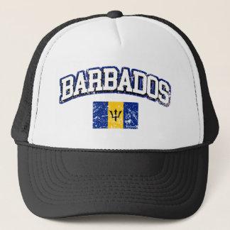 Barbados Vintage Flag Trucker Hat