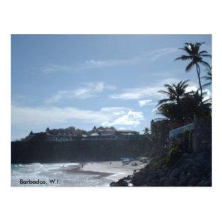 Barbados, W.I#2. Postcard