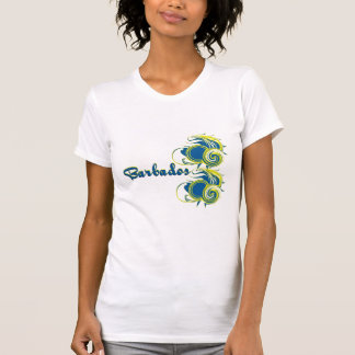 Barbados Whirled T Shirts