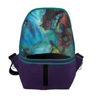 Barbara Sheehan Galaxy Nebula Artist, Inside Print Commuter Bag