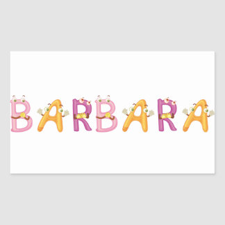 Barbara Sticker