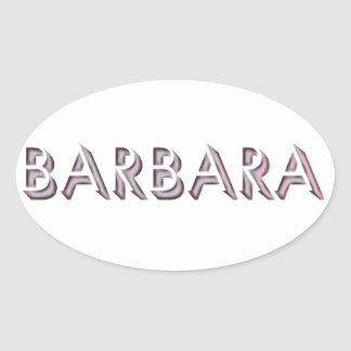 Barbara sticker name