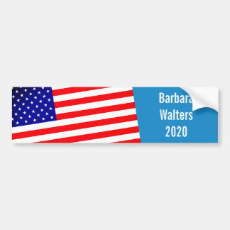 Barbara Walters for President 2020 Bumper Sticker