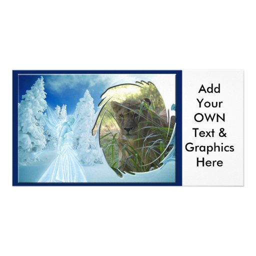 Barbary Lion-Set 1-c-15 copy Personalized Photo Card