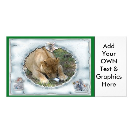 Barbary Lion-Toy-c-16 copy Photo Card Template