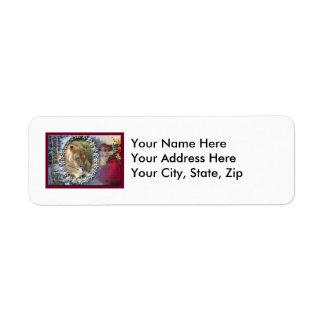 Barbary Lion-Toy-c-46 Return Address Label