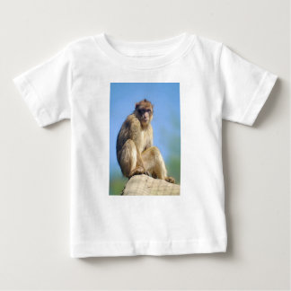 Barbary macaque sitting baby T-Shirt