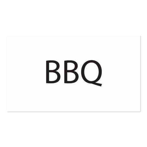 barbecue.ai business card templates