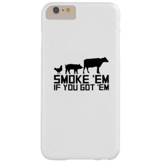 Barbecue Grilling Funny Gif Smoke'Em If You Got'Em Barely There iPhone 6 Plus Case