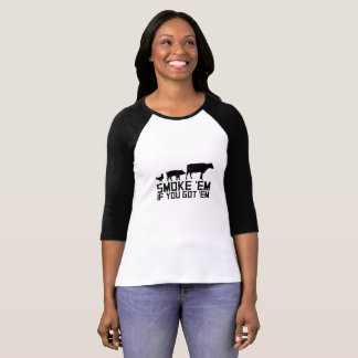 Barbecue Grilling Funny Gif Smoke'Em If You Got'Em T-Shirt