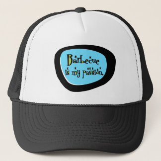 Barbecue Is My Passion Retro Trucker Hat