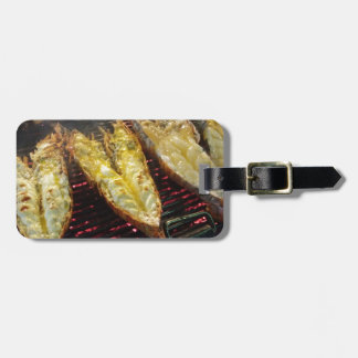 Barbecue Lobster Luggage Tag
