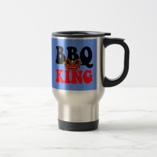 Barbecue Stainless Steel Travel Mug