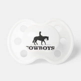 barbed cowboy art pacifiers