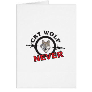 barbed cry wolf no card