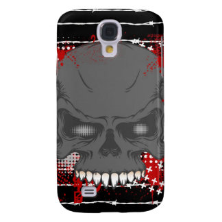 Barbed Skull iphone 3G or 3GS Hard Case Samsung Galaxy S4 Case
