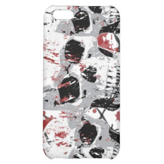 Barbed Skull iphone 4 Hard Case iPhone 5C Covers