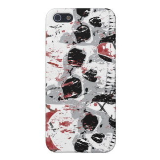 Barbed Skull iphone 4 Hard Case Cover For iPhone 5