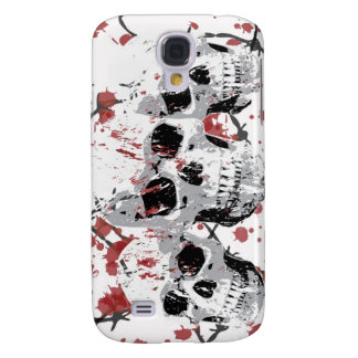 Barbed Skulls iphone 3G or 3GS Hard Case Galaxy S4 Cases