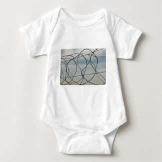 Barbed wire baby bodysuit