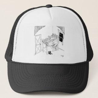 Barbed Wire Cartoon 5103 Trucker Hat