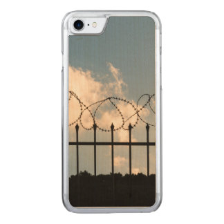 Barbed wire fence carved iPhone 8/7 case
