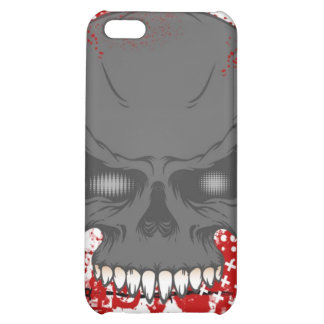 Barbed Wire Skull iphone 4 Hard Case Case For iPhone 5C