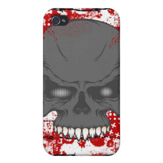 Barbed Wire Skull iphone 4 Hard Case Cover For iPhone 4