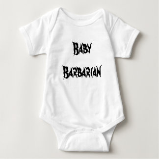 Barbell Barbarian Baby outfit Baby Bodysuit