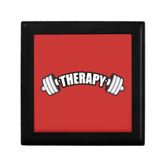 Barbell - THERAPY - Workout Inspirational Gift Box