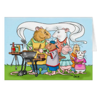 Barbeque Father's Day Card