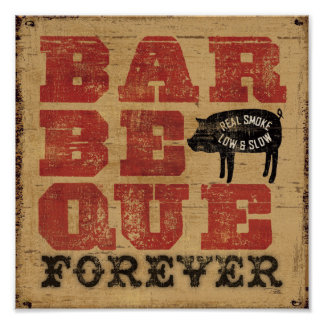 Barbeque Forever Poster