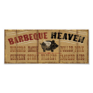 Barbeque Heaven Poster
