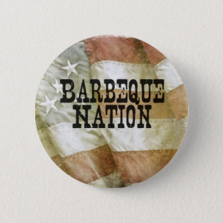 Barbeque Nation USA (with a Q) 2 Inch Round Button