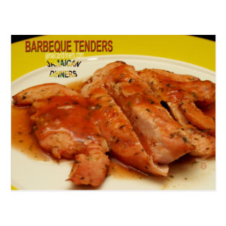 Barbeque Tenders Postcard