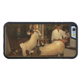 Barber - A time honored tradition 1941 Carved Maple iPhone 6 Bumper Case