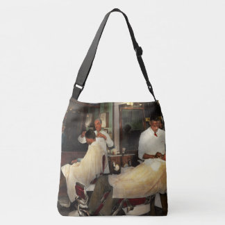 Barber - A time honored tradition 1941 Crossbody Bag