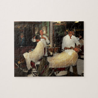 Barber - A time honored tradition 1941 Jigsaw Puzzle