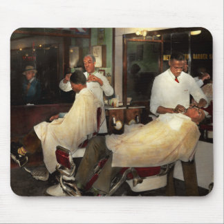 Barber - A time honored tradition 1941 Mouse Pad