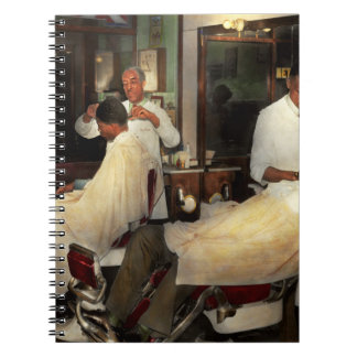 Barber - A time honored tradition 1941 Notebook