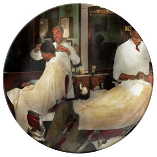 Barber - A time honored tradition 1941 Plate