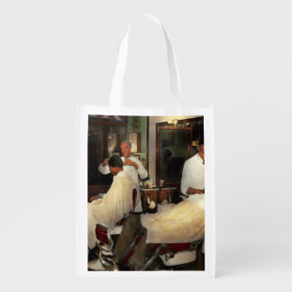 Barber - A time honored tradition 1941 Reusable Grocery Bag