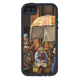 Barber - At Nelson's Barber Shop 1937 iPhone 5 Cover