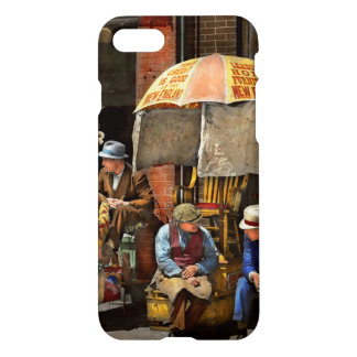 Barber - At Nelson's Barber Shop 1937 iPhone 7 Case