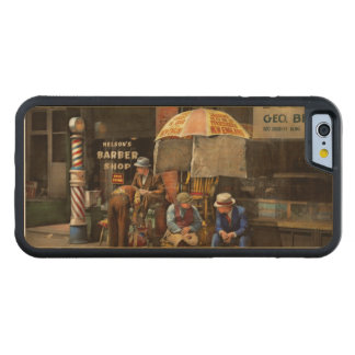 Barber - At Nelson's Barber Shop 1937 Maple iPhone 6 Bumper Case